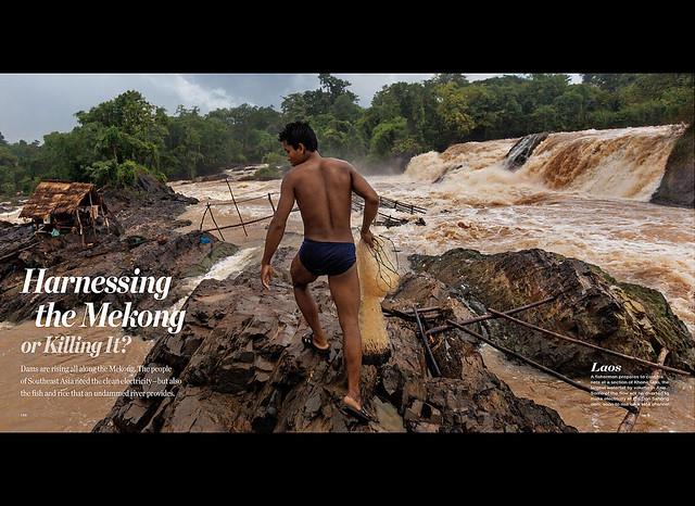 National Geographic - May 2015 (1) - Khai thác sông Mekong để sản xuất điện hay đang giết chết nó?
