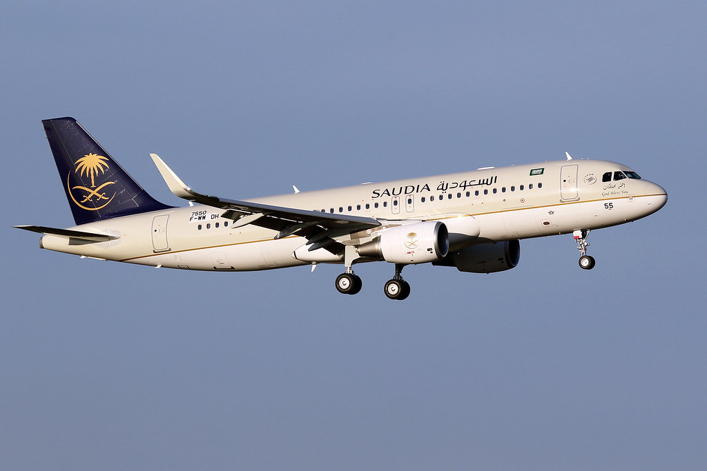 16 février 2017 - SAUDIA - Airbus A 320 SL  F-WWDH  msn 7550 - LFBO - TLS