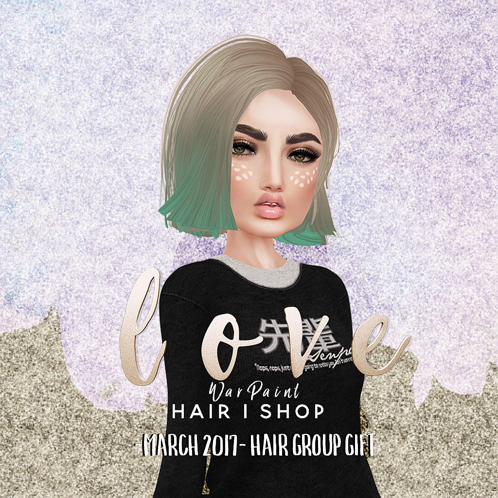 Love [War Paint] Group Gift - SecondLifeHub.com