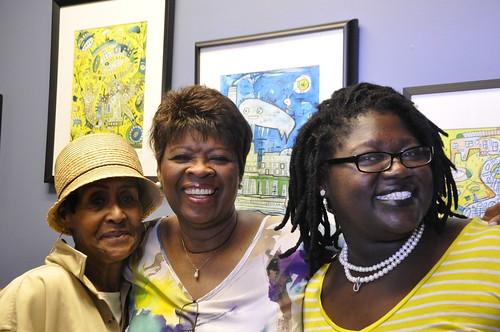 Dee Lindsey, Irma Thomas, and Pearl Ricks. Photo by Leona Strassberg Steiner