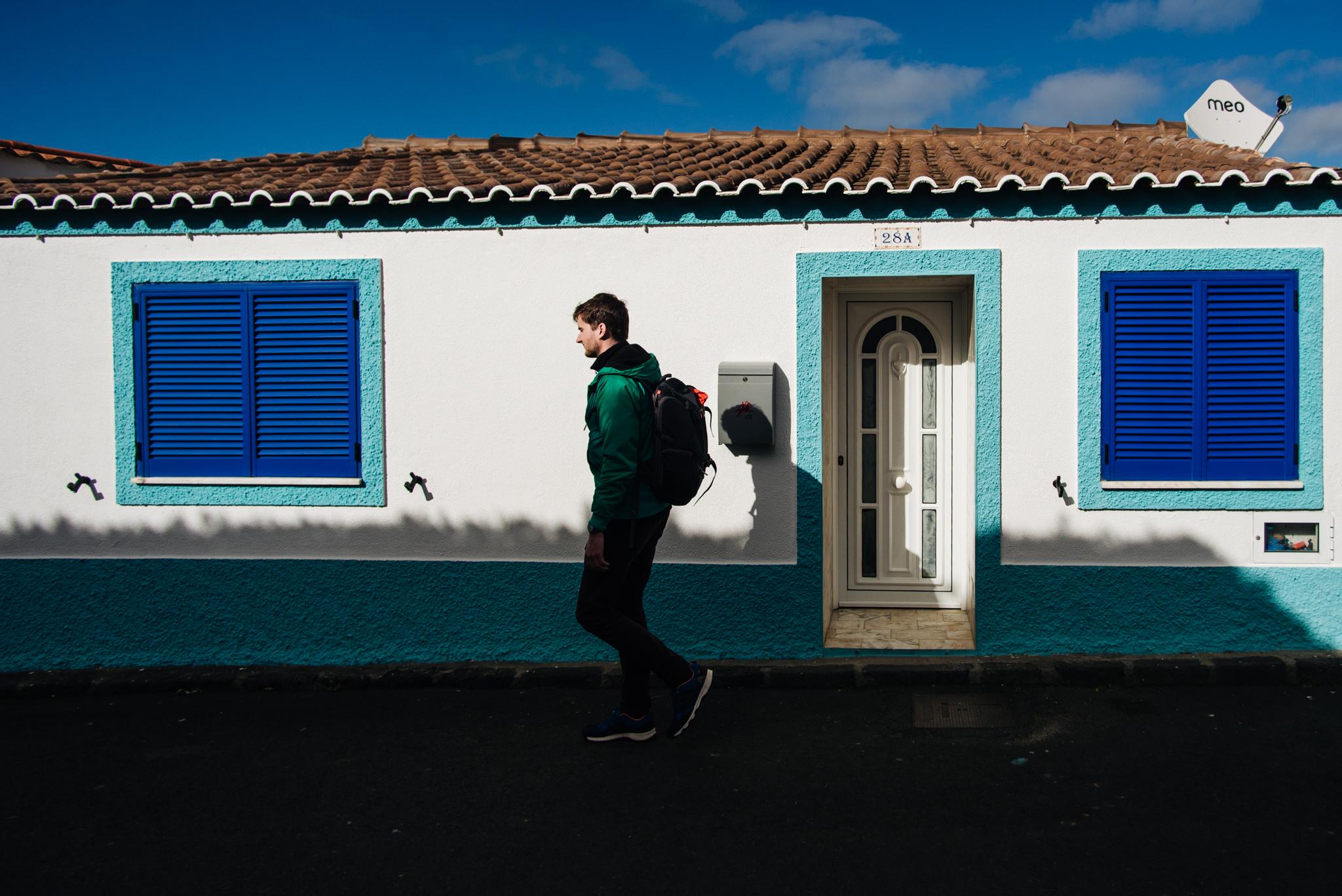 Ház Mosteiros-ban. Fotó: Dobó Diána