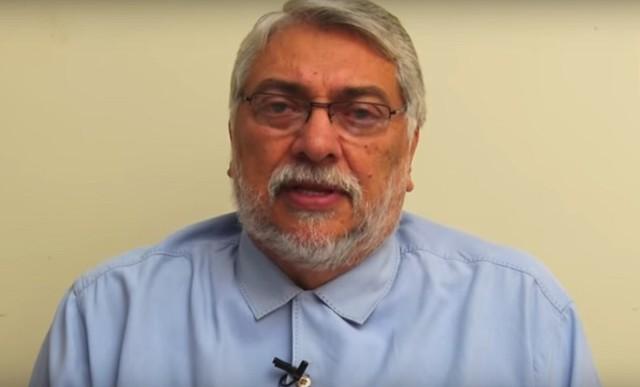 Fernando Lugo em pronunciamento neste domingo (02/04) - Créditos: Reprodução/YouTube