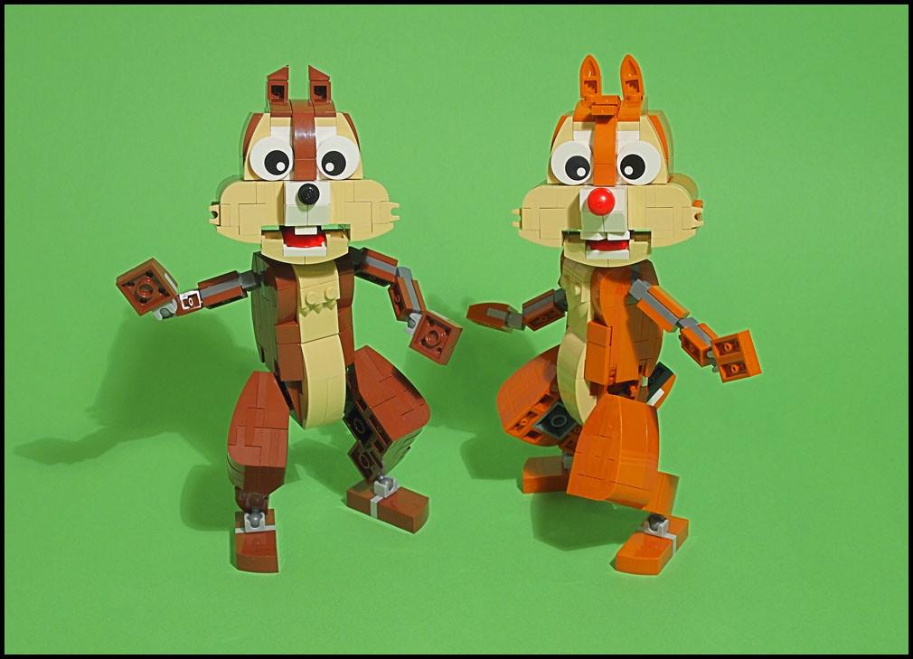 ChipnDale (custom built Lego model)