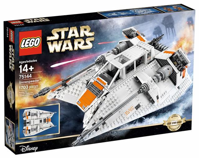 星戰五部曲經典戰機再登場!LEGO 星際大戰《終極收藏家》系列75144 雪地戰機 Star Wars UCS Snowspeeder