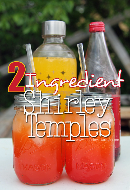 2 Ingredient Shirley Temples