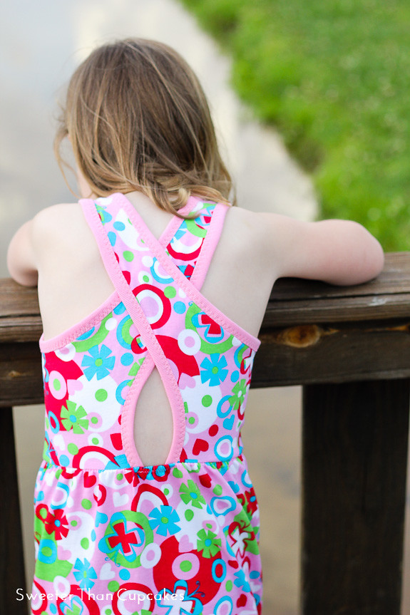 Modkid Malibu Cross-Back Dress