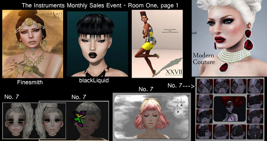 *NEW* Monthly Fashion Event on SL: The Intruments - June Round!