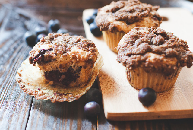 Ultimate blueberry muffin recipe