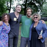 With Rita Houston & Carmel Holt at Celebrate Brooklyn in Prospect Park, 6.10.2014 Photo by Deirdre Hynes