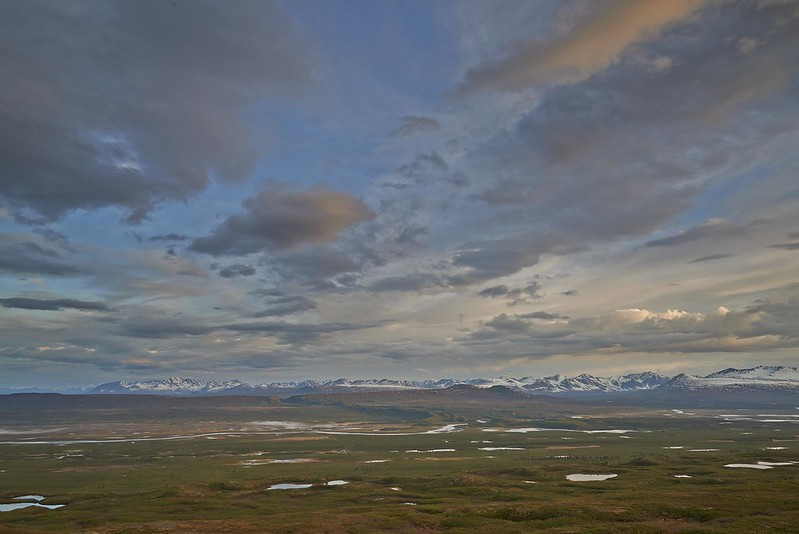 Lakes and River - Denali Highway