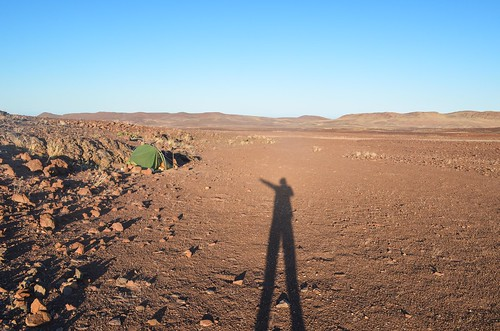 Camping in the Dorob desert, Namibia