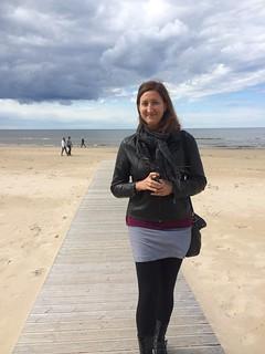 صورة Majoru pludmale قرب Jūrmala. beach latvia jurmala