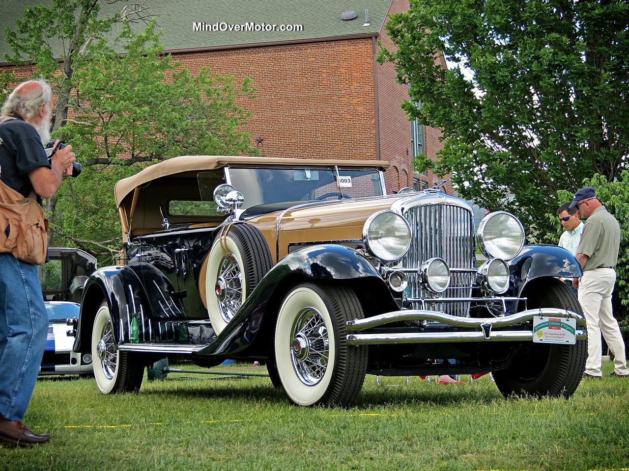 Duesenberg SJ562 at the Greenwich Concours Best In Show day 1