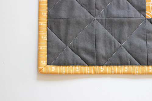 Jacey's Blind Co-pilot Mini Quilt