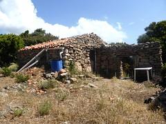 Maison encore utilisée à l'W du hameau ruiné de Pastricciola