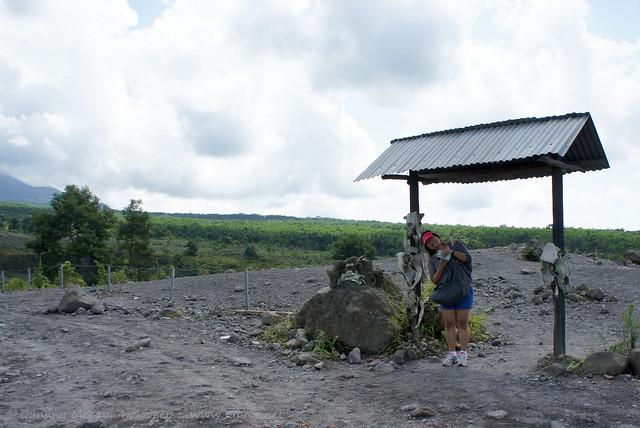 Yogyakarta - Gunung Merapi 4x4 Jeep tour - remaining gate