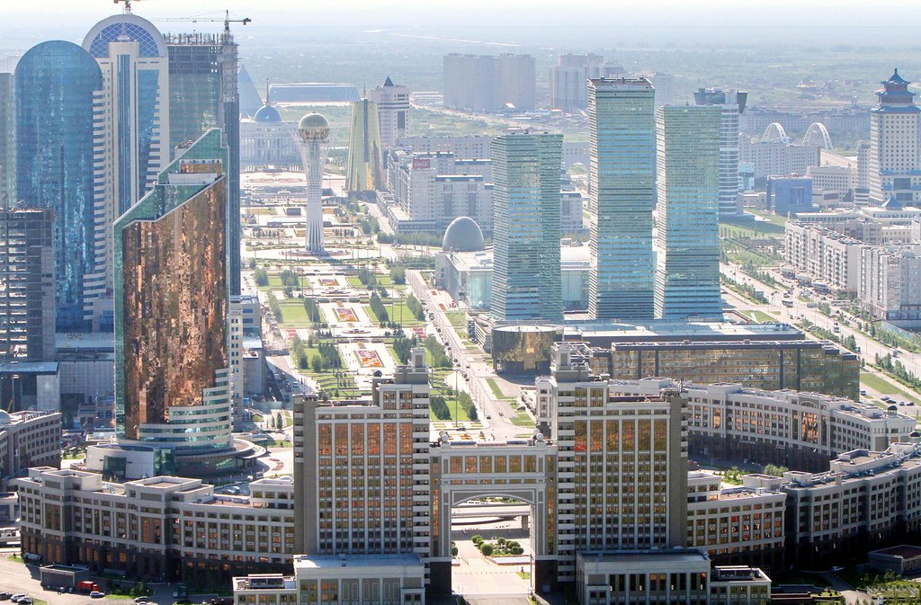 Capital city of Kazakhstan