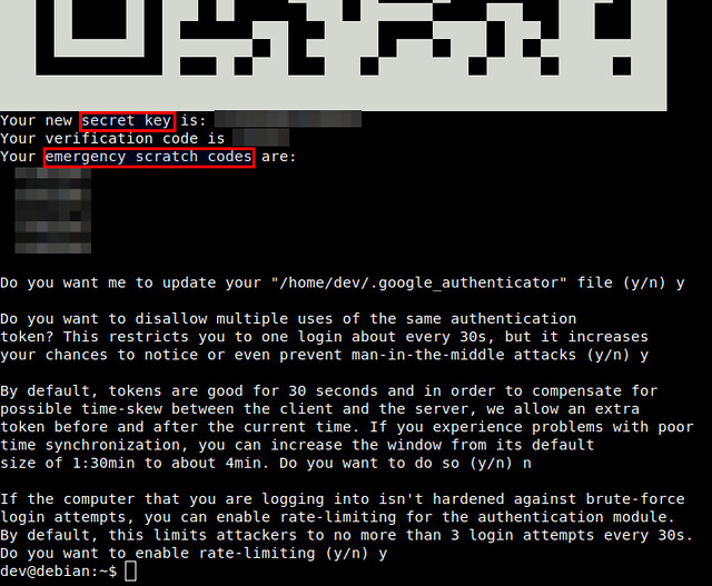 How to set up two-factor authentication for SSH login on Linux - Xmodulo