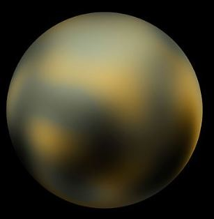 Pluto Photo by NASA and Wikipedia
