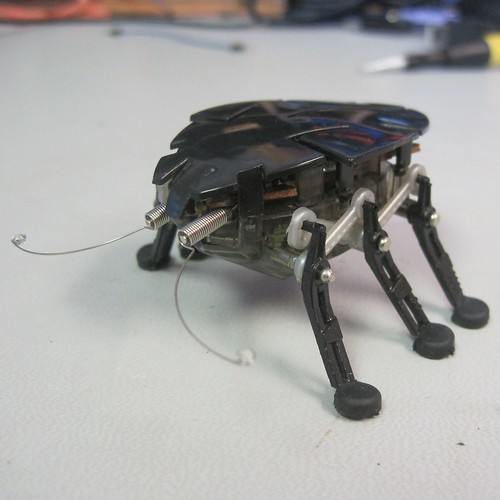 Hexbug Delta in need of a new power switch