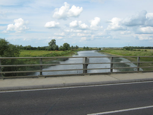Hundred foot river at Earith Bridge