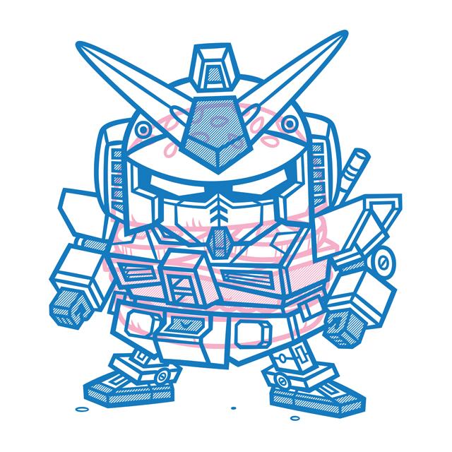 Cheeseburger RX-78 Gundam