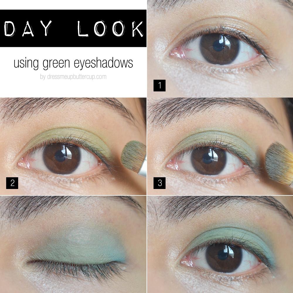 How To Wear Green Eyeshadow