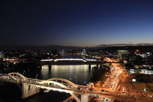 city nightphotography bridge urban canon australia brisbane queensland brisbaneriver hotelview
