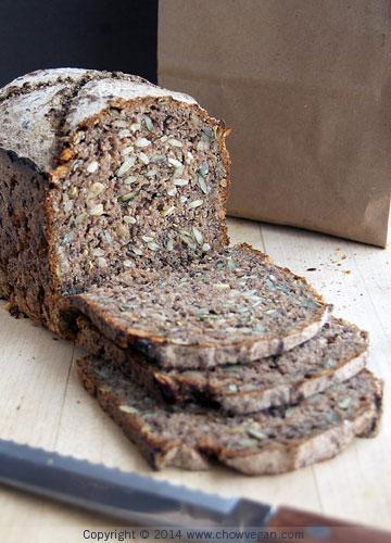 Manresa Pumpernickel Rye Bread