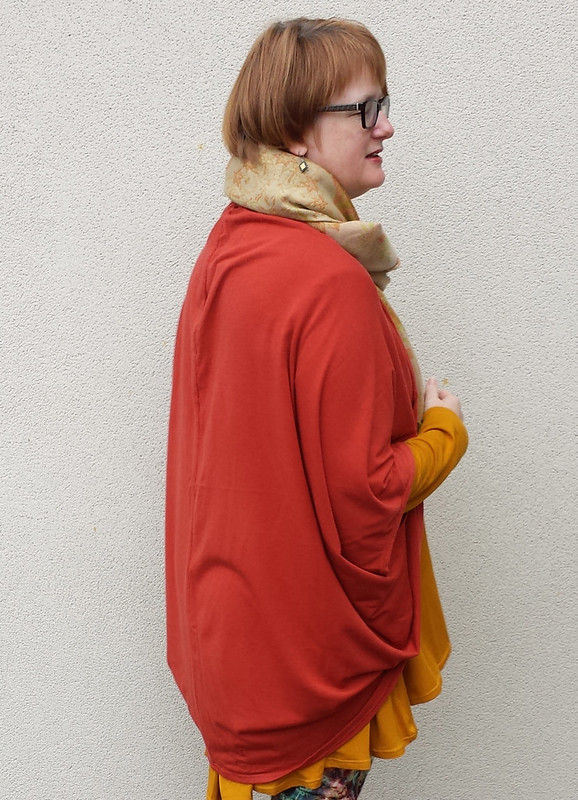 True Bias Cocoon Cardigan
