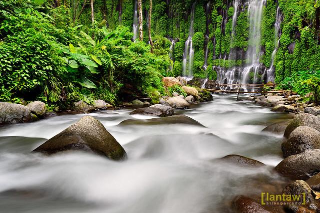 Asik Asik Falls Upstream