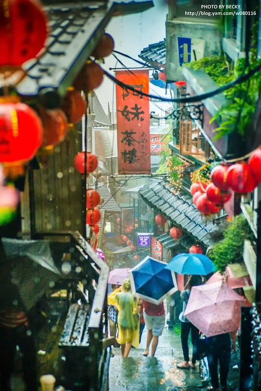 2014. 雨天的台灣九份 千と千尋の神隠し