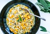 Pearl barley, butternut squash and sage risotto