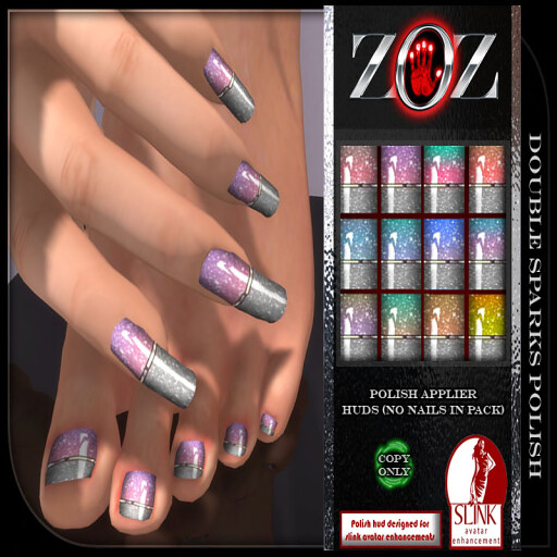 -{ZOZ}- Double Sparks Polish pix