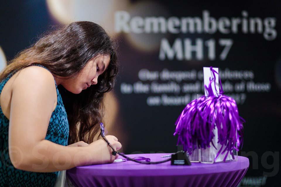 Remembering Flight MH17 (#PrayForMH17 #JusticeMH17) @ Kuala Lumpur, Malaysia