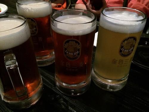 台中金色三麥,現釀透心涼啤酒5
