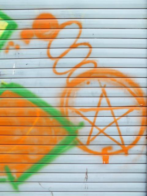 Sibe graffiti in Grangetown, Cardiff