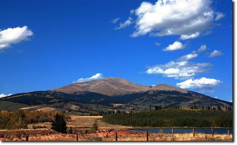 Mount Silverheels (viewed from US-285) 1