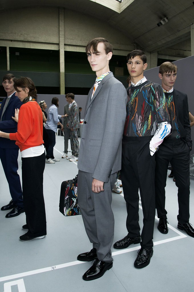 SS15 Paris Dior Homme243_Gryphon O'Shea, Lucas Santoni, Ben Allen(fashionising.com)