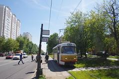 Moscow tram Tatra T3SU 3735 2014