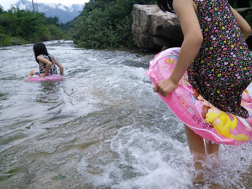 물놀이 | 시골집 풍경