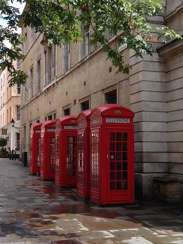 Cabinas, London. Londres