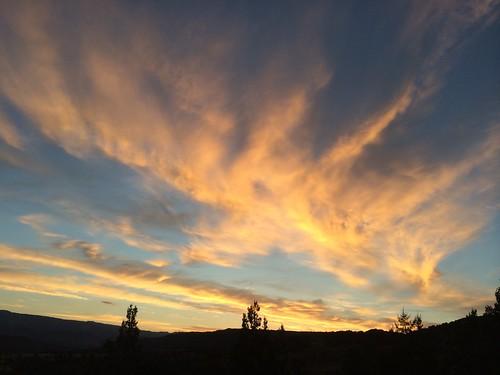 sunset sky usa colorado