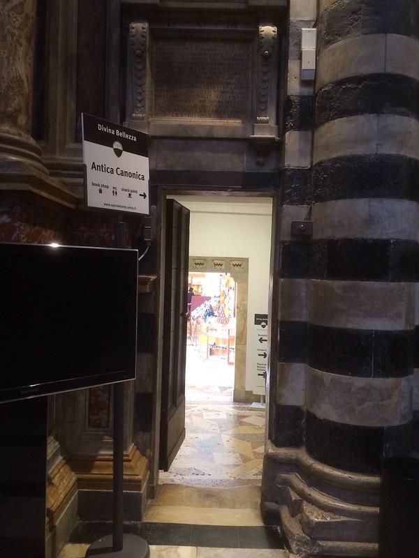 シエナ大聖堂内部