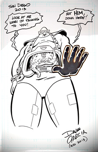 """Look at Krang"" ..art by DAVE GARCIA (( 2013 ))"