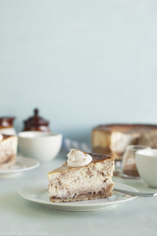 Cinnamon Swirl Cheesecake with Oatmeal Cookie Crust The Candid