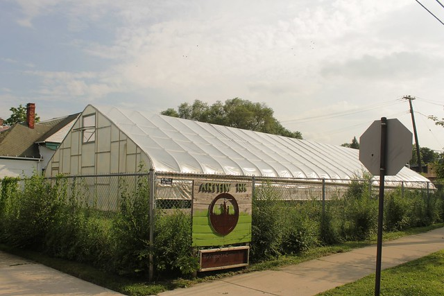 Earthworks Urban Farm. Detroit.