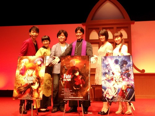 140728(4) -「遠坂凛」路線再臨!全二季動畫《Fate/stay night - Unlimited Blade Works》敲定10/4放送、海報&預告更新! 2