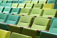 Large Auditorium Seating Detail