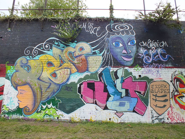 Graffiti and Street Art at Sevenoaks Park